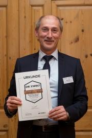 Alois Drube, Vorstandsvorsitzender der Sparkasse Hameln-Weserbergland