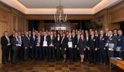 Banken-Qualitätstest 2018: Die große Runde der Ausgezeichneten traf sich im 19. Stock des Axel-Springer-Hochhauses in Berlin, um im dort ansässigen Journalistenclub gemeinsam zu feiern.