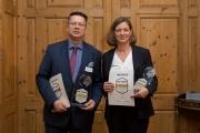 Gerald Wimmer, Bereichleitung Private Banking und Andrea Kilian, Vertriebsleiterin Private Kunden Immobilien der Frankfurter Sparkasse
