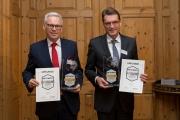 Johannes Kapsers, Bereichsleiter Vertriebsmanagement und Dr. Andreas Reingen, Vorstandsvorsitzender der Sparkasse Westerwald-Sieg
