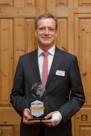 Konrad Dormeier, Vorstandsvorsitzender der Stadtsparkasse Dessau