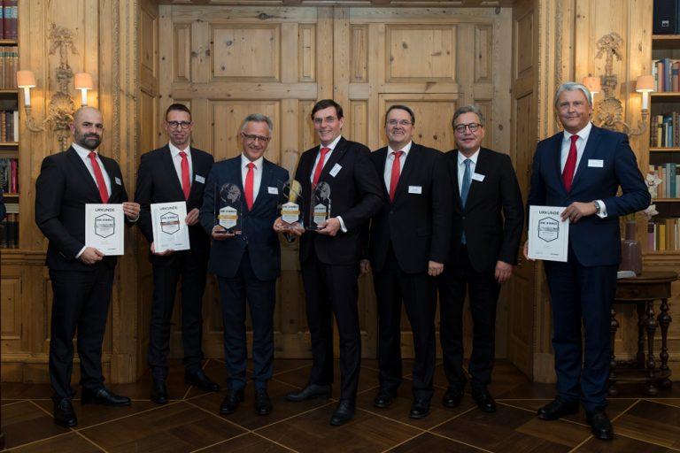 Ehrung der Besten beim Banken-Qualitätstest 2019 4