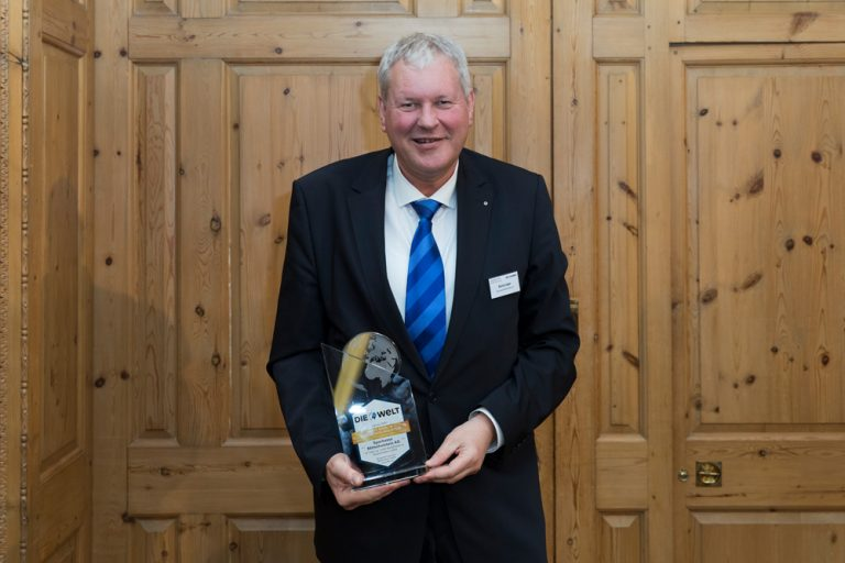 Bernd Jäger, Vorstandsmitglied Sparkasse Mittelholstein AG