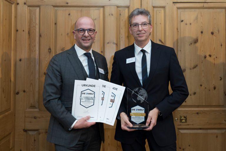 Dominikus Penners, Vorstandsmitglied & Andreas Stamme (Regionaldirektor Hildesheim Land) Sparkasse Hildesheim Goslar Peine