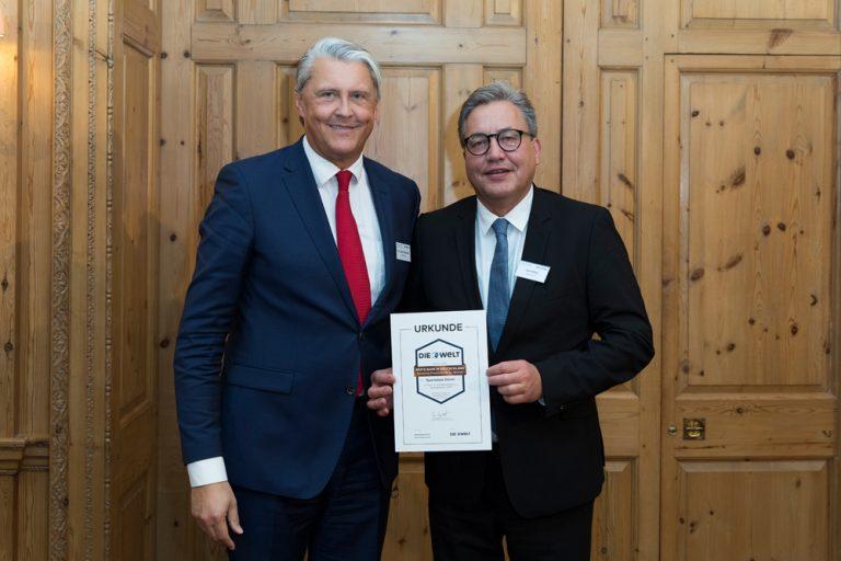 Dr. Gregor Broschinski, Vorstandsmitglied & Uwe Willner, Vorstandsvorsitzender Sparkasse Düren