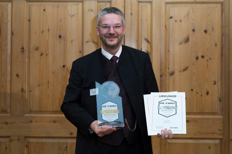 Felix Angermann, Vorstandsvorsitzender Sparkasse Zwickau