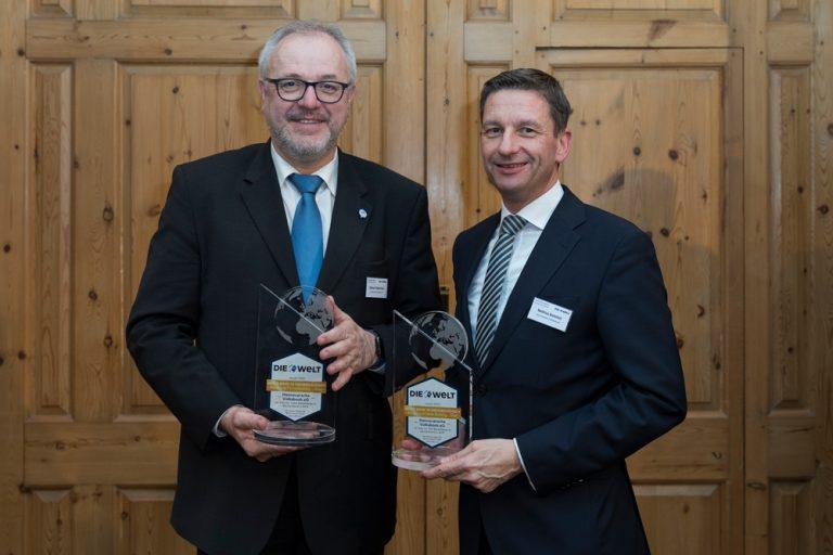 Gerhard Oppermann, stellvertretender Vorstandssprecher & Matthias Battefeld, Vorstandsmitglied Hannoversche Volksbank eG