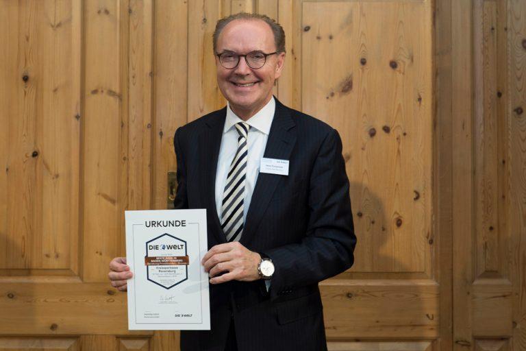 Heinz Pumpmeier, Vorstandsvorsitzender Kreissparkasse Ravensburg