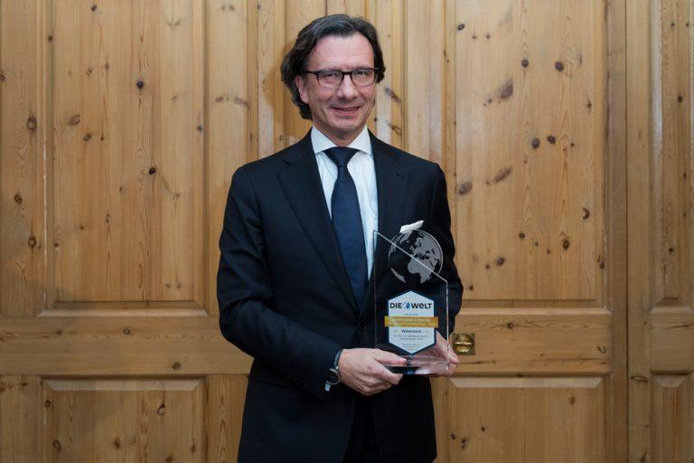 Klaus Siegers, Vorstandsvorsitzender Weberbank AG