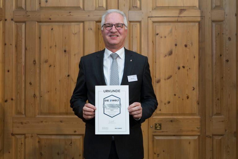 Klaus Vikuk, Vorstandsvorsitzender Fürstlich Castell´sche Bank, Credit-Casse AG