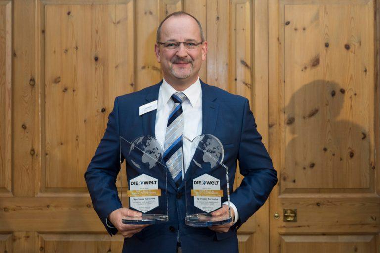 Lutz Boden, Vorstandsmitglied Sparkasse Karlsruhe