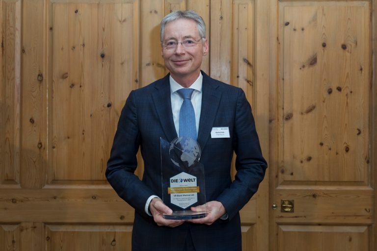 Manfred Roth, Vorstandsvorsitzender VR Bank Weimar eG