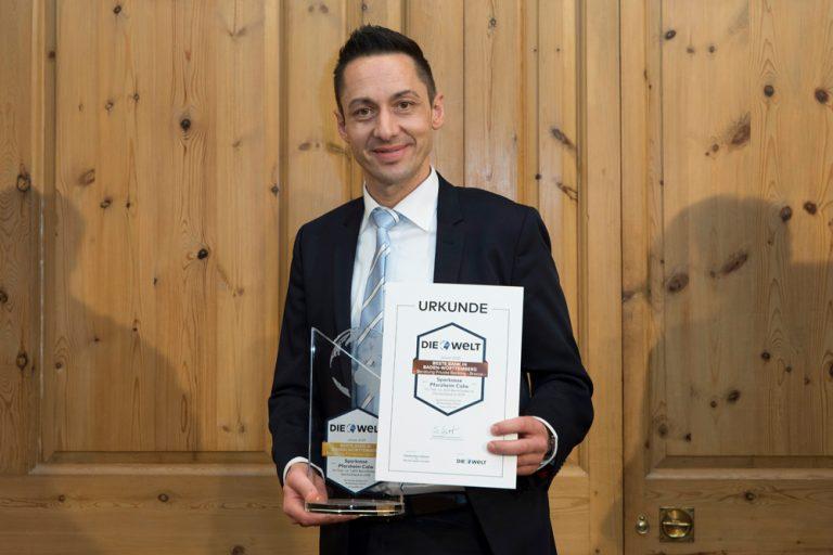 Markus Schwarz, Abteilungsdirektor Firmenkunden Sparkasse Pforzheim Calw