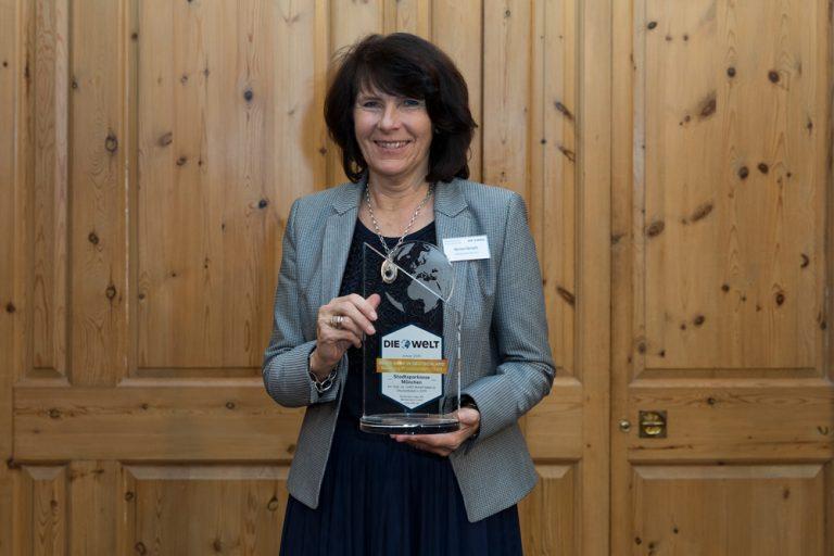 Marlies Mirbeth, Vorstandsmitglied Stadtsparkasse München