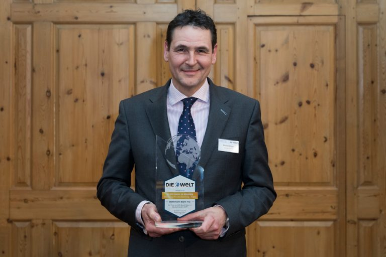 Michael Gröger, Niederlassungsleiter Bethmann Bank AG