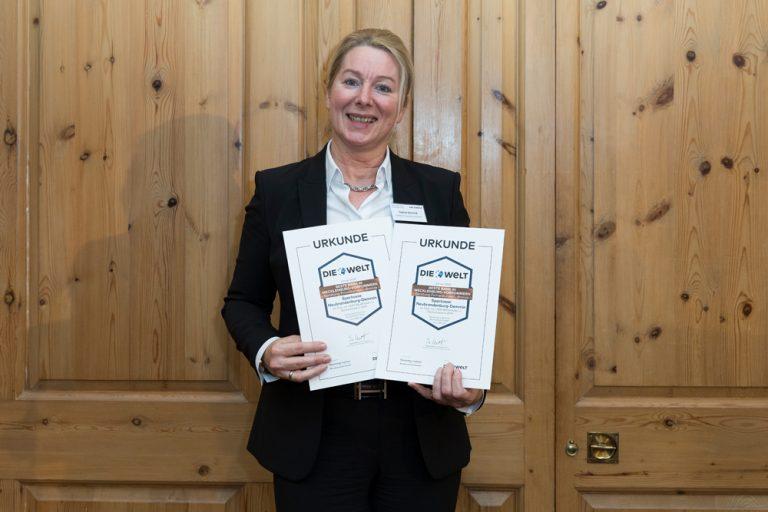 Sabine Schmidt, Vorstandsmitglied Sparkasse Neubrandenburg-Demmin