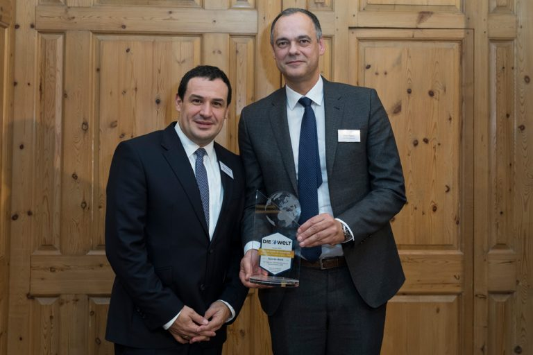 Stephan Liesegang, Vorstandsmitglied & Oliver Pöpplau, Vorstandsvorsitzender Sparda-Bank Hamburg eG