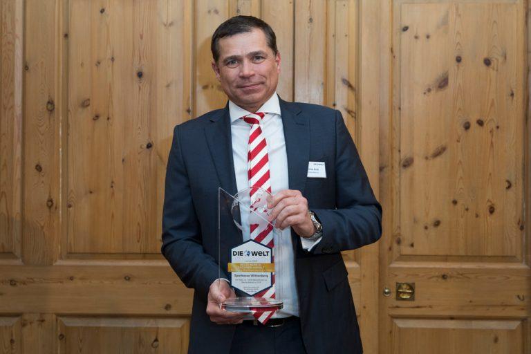 Thomas Arndt, Vorstandsvorsitzender Sparkasse Wittenberg